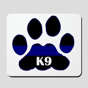 K9 Thin Blue Mousepad
