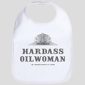 Hardass Oilwoman Bib