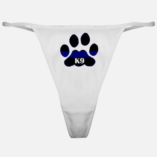 K9 Thin Blue Classic Thong