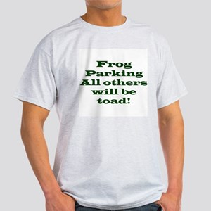 Frog Parking Ash Grey T-Shirt