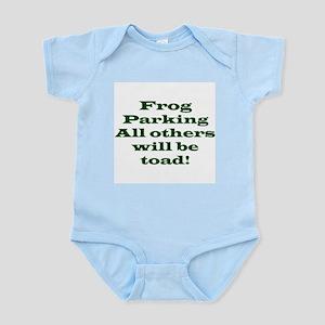 Frog Parking Infant Creeper