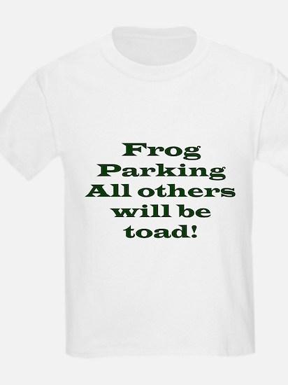 Frog Parking Kids T-Shirt
