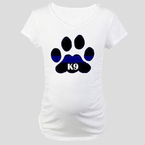 K9 Thin Blue Maternity T-Shirt