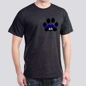 K9 Thin Blue Dark T-Shirt
