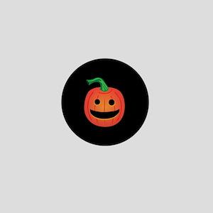 Halloween Pumpkin Mini Button