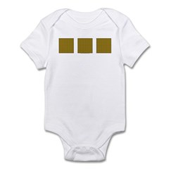 Yellow Latticework Infant Bodysuit