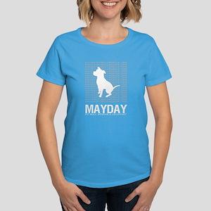 Mayday Pit Bull Rescue & Advo Women's Dark T-S