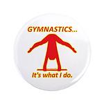 """Gymnastics 3.5"""" Buttons (100) - Do"""
