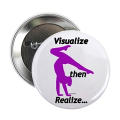 "Gymnastics 2.25"" Buttons (100) - Visualize"