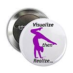 "Gymnastics 2.25"" Buttons (10) - Visualize"