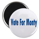 Vote For Monty Magnet
