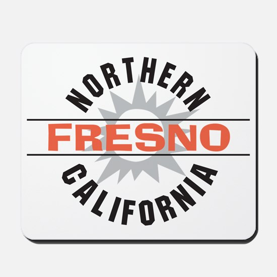 Fresno California Mousepad