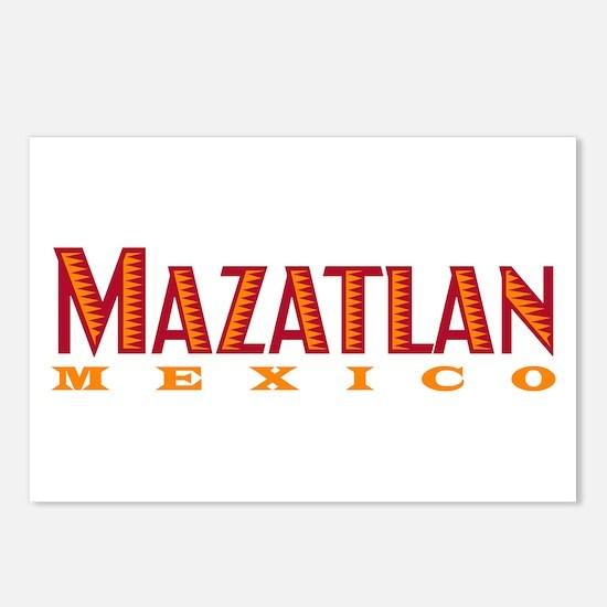 Mazatlan Mexico - Postcards (Package of 8)