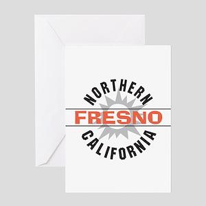 Fresno California Greeting Card