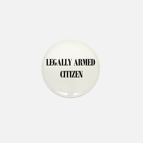 Legally Armed Mini Button
