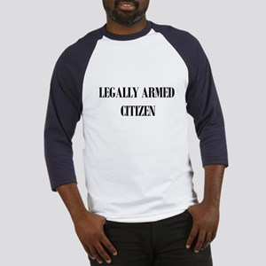 Legally Armed Baseball Jersey