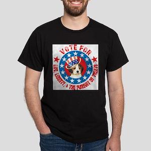 Vote for Beagle White T-Shirt