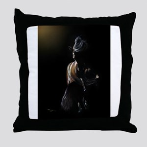 Shadow Play - Andalusian Throw Pillow