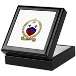 SOUCIE Family Crest Keepsake Box