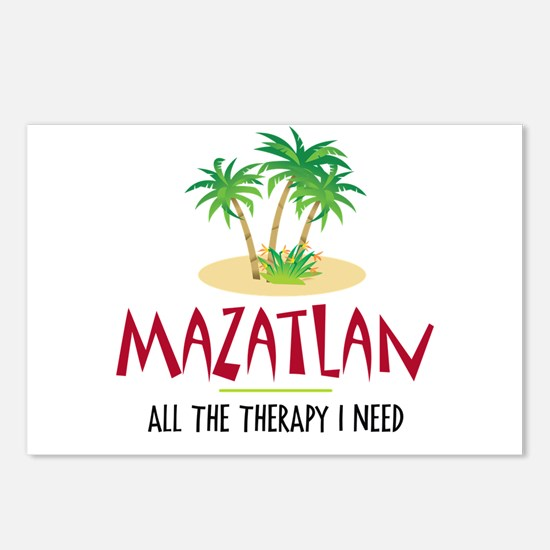Mazatlan Therapy - Postcards (Package of 8)