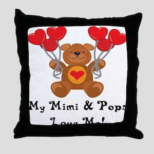 Mimi & Pops Love Me Throw Pillow