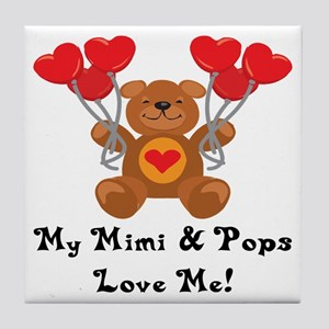 Mimi & Pops Love Me Tile Coaster