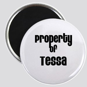 Property of Tessa Magnet