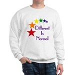 """Different Is Normal"" Sweatshirt 2"