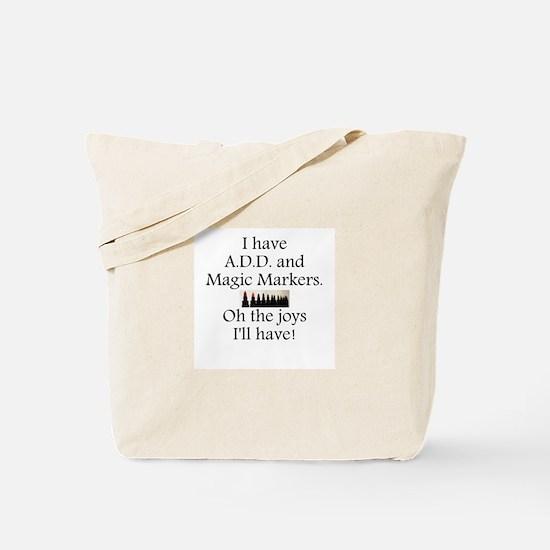 Magic Markers Tote Bag
