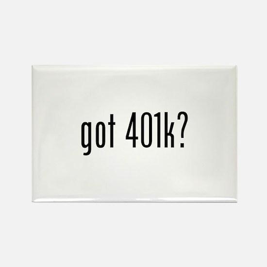 got 401k? Rectangle Magnet (10 pack)
