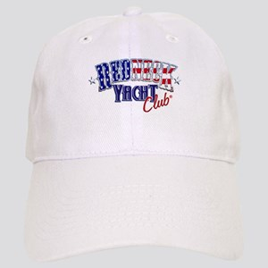 Redneck White & Blue Cap