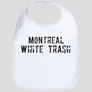 Montreal White Trash Bib