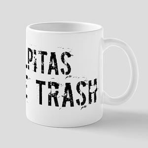 Milpitas White Trash Mug