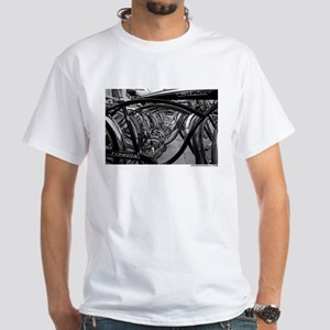 Schwinn Tunnel White T-Shirt