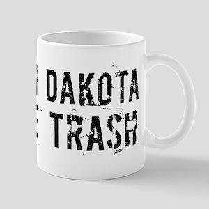 North Dakota White Trash Mug