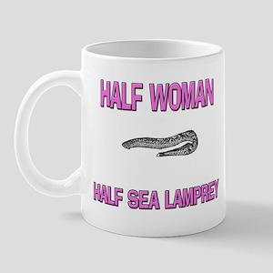 Half Woman Half Sea Lamprey Mug