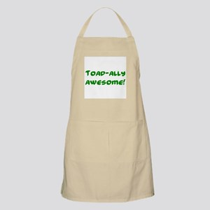 Toad-ally awesome! BBQ Apron