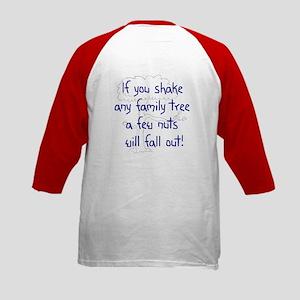 Shaking Family Tree (Blue) Kids Baseball Jersey