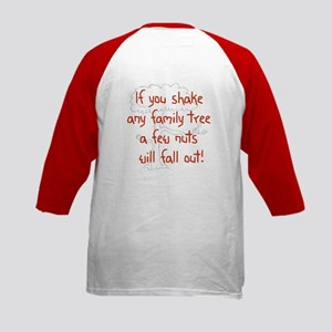Shaking Family Tree (Red) Kids Baseball Jersey