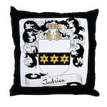 Andrieu Family Crest Throw Pillow