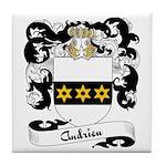 Andrieu Family Crest Tile Coaster
