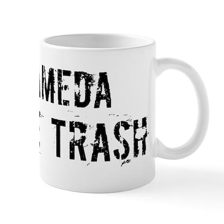 Alameda White Trash Mug