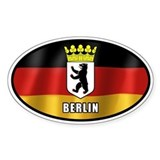 Berlin Stickers & Flair