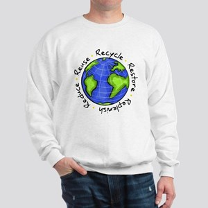 Recycle - Reuse - Reduce - Re Sweatshirt