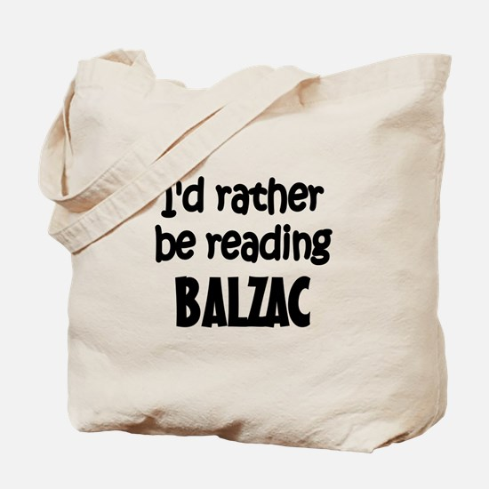 Balzac Tote Bag