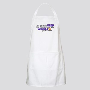 Wiggle your worm Apron