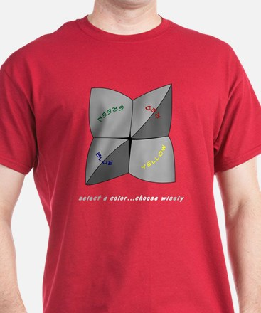 Select a color Choose Wisely - Dark Tee