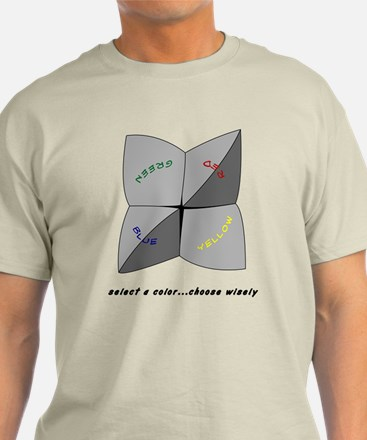 Select a color Choose Wisely - Light Tee