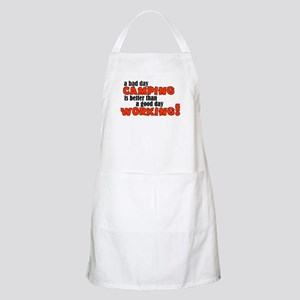 Bad Day Camping BBQ Apron