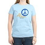 Give Peace a Chance - Blue & Orange Women's Light